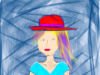 The Girl with the Red Hat